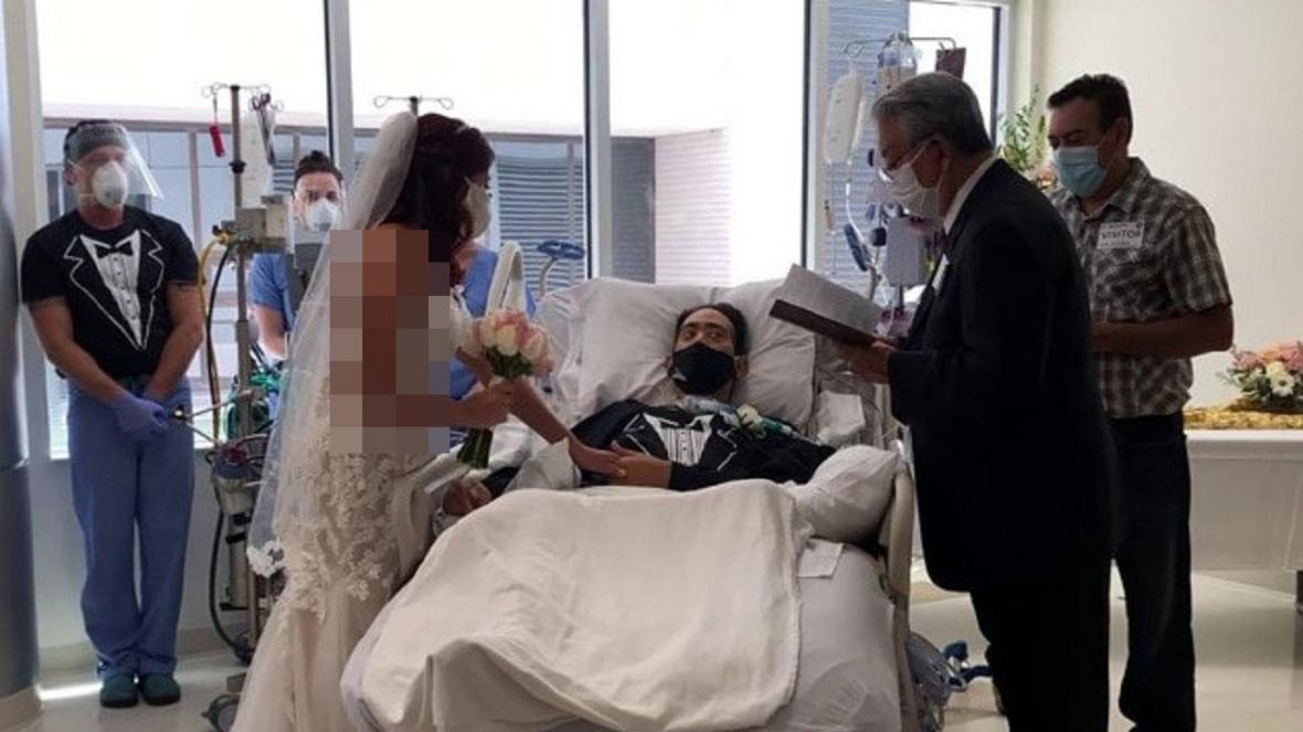 ازدواج بیمار کرونایی در بخش ICU بیمارستان!
