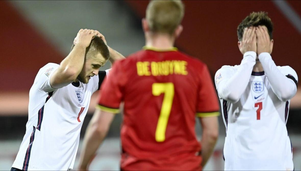 لیگ ملت های اروپا، حذف انگلیس توسط بلژیک و پیروزی ایتالیا مقابل لهستان