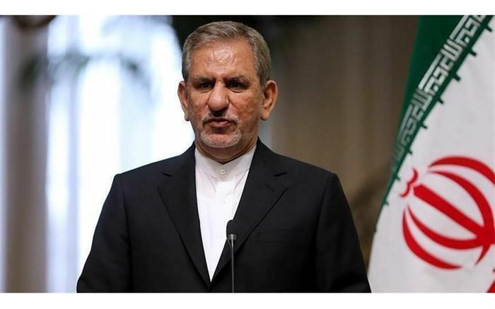 جهانگیری: شورای اقتصاد مانعی برای احداث شبکه فاضلاب شهری در مشهد نمی بیند