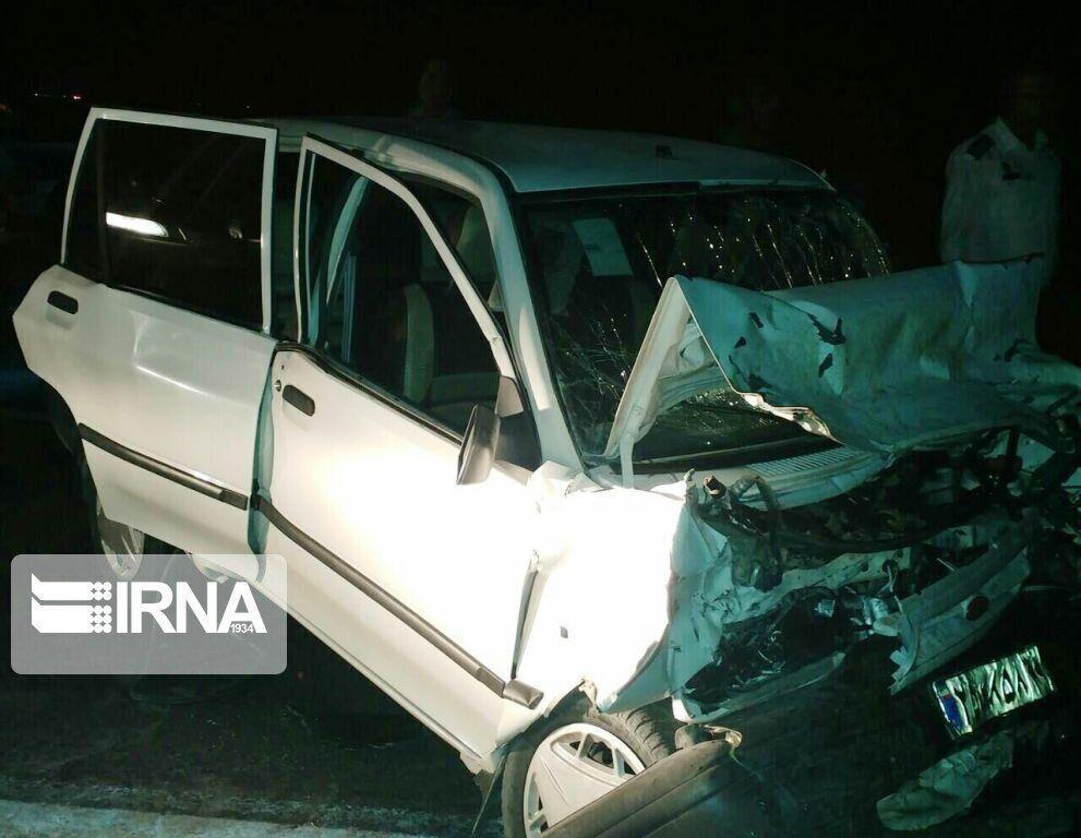 خبرنگاران تصادف در بیجار یک کشته و سه مصدوم برجای گذاشت