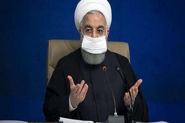 روحانی: مصوبه دیروز مجلس را مضر می دانم، امّا نرفتنم به مجلس به خاطر رعایت پروتکل ها بود
