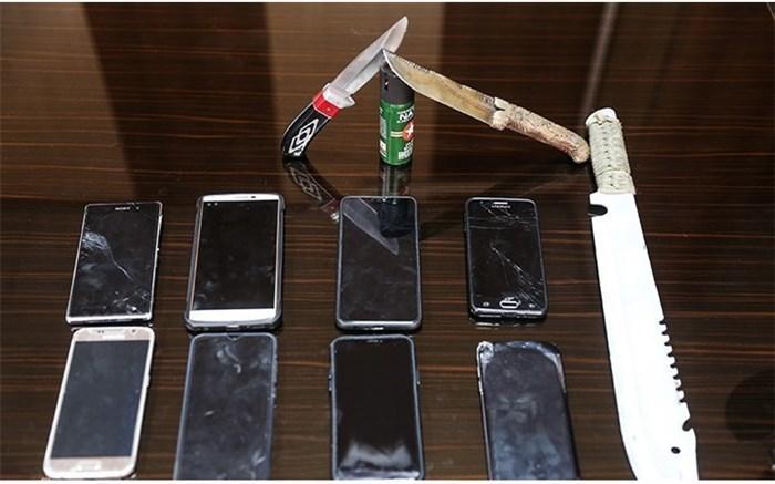 کشف 60 فقره سرقت تلفن همراه