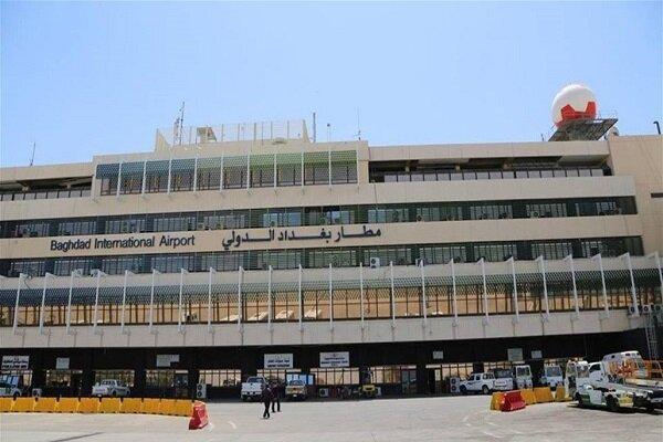 وقوع انفجار در فرودگاه بین المللی بغداد