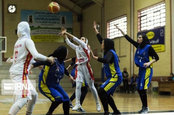 خبرنگاران شکست نایب قهرمان فصل گذشته در لیگ بسکتبال زنان