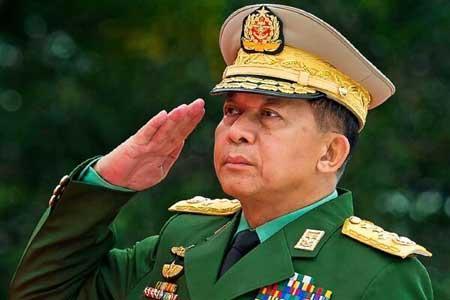 کودتای نظامی در میانمار ، ارتش قدرت را در دست گرفت