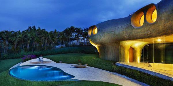 معماری طبیعت گرا ؛ تاریخچه، فواید و اصول طراحی
