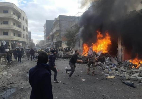 سوریه، انفجار در مناطق تحت اشغالالجیش الحر؛ دهها نفر کشته و زخمی شدند