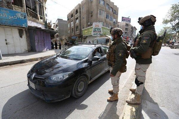 خنثی سازی حمله تروریست های داعش در بغداد