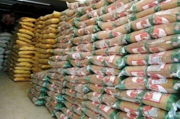کشف 10 تن برنج احتکار شده در اسلام آبادغرب