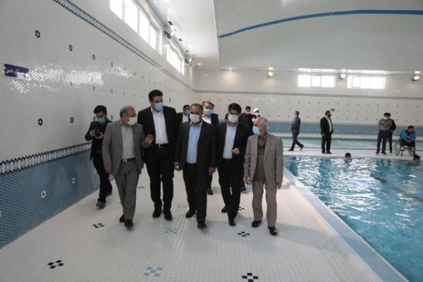 افتتاح نخستین مجموعه آبی دانش آموزان با نیازهای ویژه کشور در مشهد