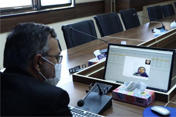 نظارت تصویری در آزمون های مجازی دانشگاه علوم پزشکی کلید خورد