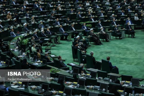 تنفس در جلسه علنی مجلس برای رعایت پروتکل های بهداشتی