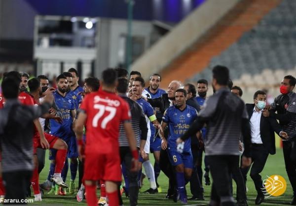 توضیحات بهزاد غلامپور درباره درگیری با بازیکن پرسپولیس!