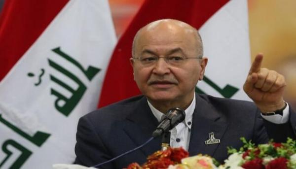 برهم صالح حمله ترکیه به خاک عراق و نیروهای پیشمرگ را محکوم کرد