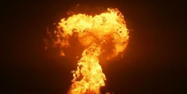 انفجار در میدان گازی جمهوری آذربایجان در دریای خزر