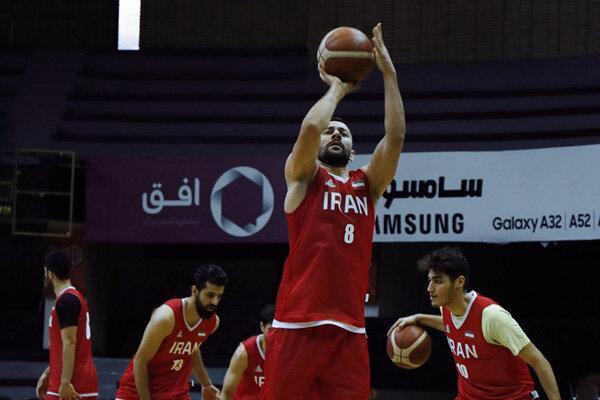 تیم ملی بسکتبال ایران برابر قطر به پیروزی رسید