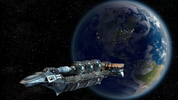 ساخت سفینه فضایی بزرگ الجثه به وسیله چین با طول یک کیلومتر