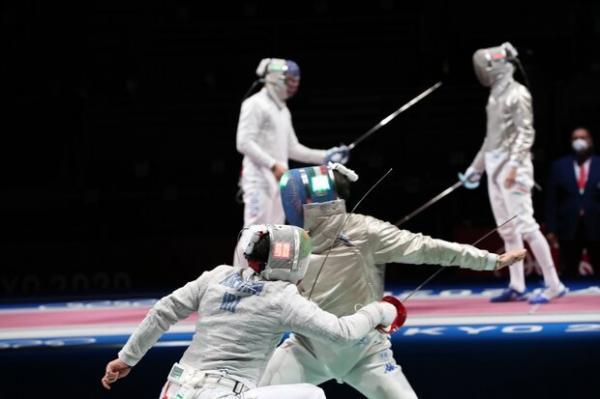 اردوی شمشیربازان طبق برنامه مصوبِ قبل از المپیک پیش می رود
